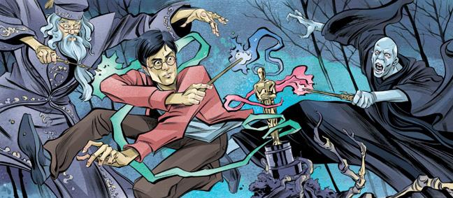 43 BIZ Harry Potter Illustration H