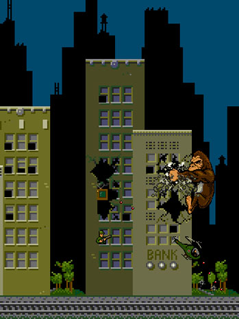 rampage arcade game gif