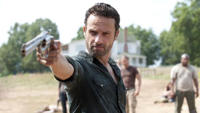Rick Grimes Walking Dead Finale 207 - H 2011