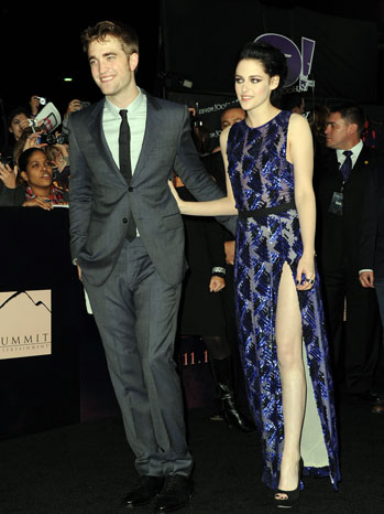 Robert Pattinson Kristen Stewart Twilight Premiere 2011 - P