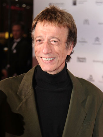 Robin Gibb Bee Gees Headshot - P 2011