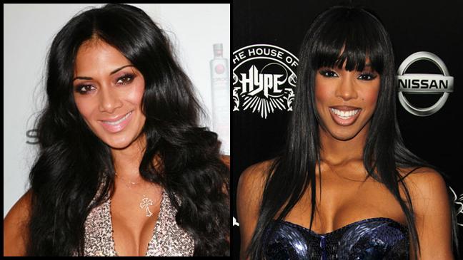 Nicole Scherzinger Kelly Rowland split L