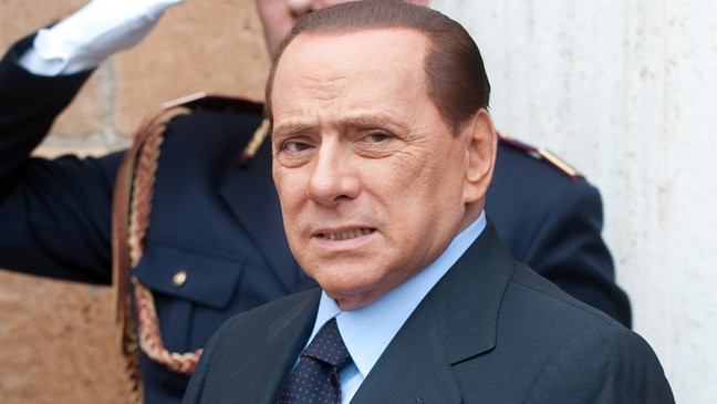Italian Media Tycoon Silvio Berlusconi Hospitalized After Testing Positive for COVID-19