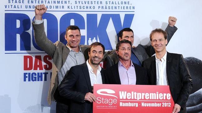 Slyvester Stallone Rocky Musical - H 2011