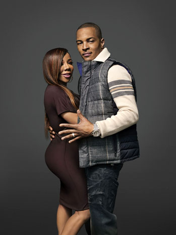 T.I. and Tiny VH1 Portrait - P 2011