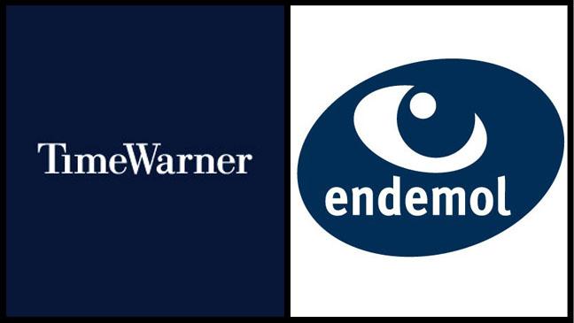 Time Warner Endemol Logo Split - H 2011