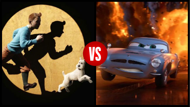 TinTIn Cars 2 VS Split - H 2011