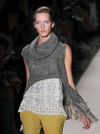 Vanessa Bruno Fashion Show Model - P 2011