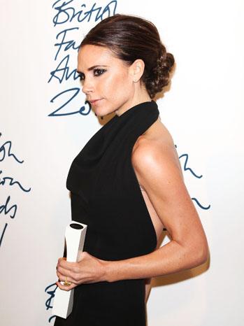 Victoria Beckham British Fashion Awards - P 2011