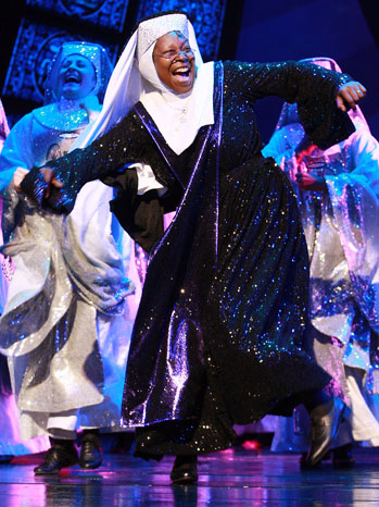 Whoopi Goldberg Sister Act Theater 2010 - P