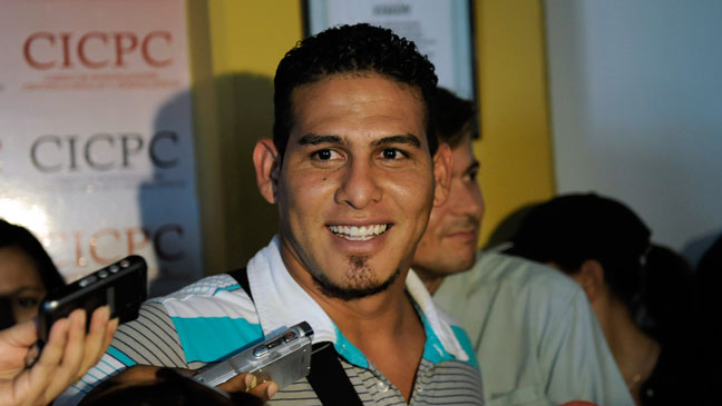 Wilson Ramos Smiling After Released by Kidnappers 2011 - H