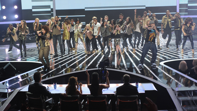 X Factor top 12 group number