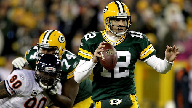 Aaron Rodgers Green Bay Packers H