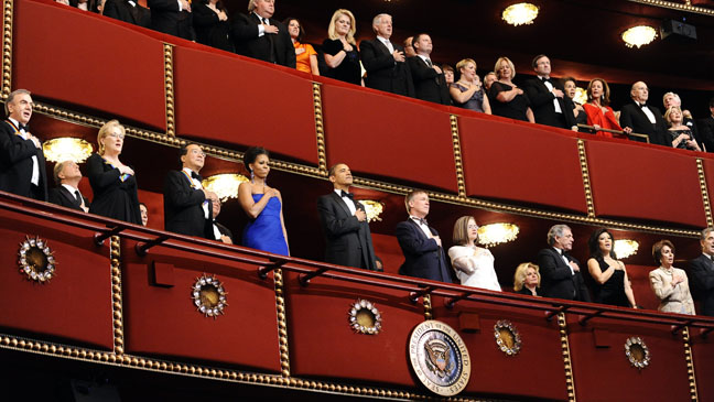 34th Kennedy Center Honors Obama First Lady - H 2011