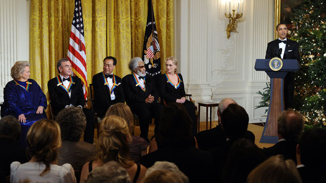34th Kennedy Center Honors Stage - H 2011