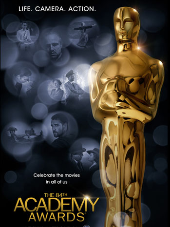 84th Academy Awards Poster - P 2011