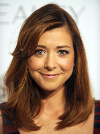 Alyson Hannigan Headshot - P 2011