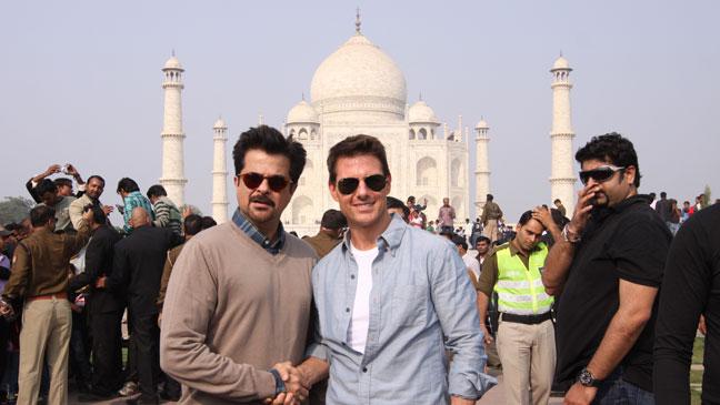 Anil Kapoor Tom Cruise Taj Mahal - H 2011