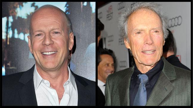 Bruce Willis Clint Eastwood - H 2011