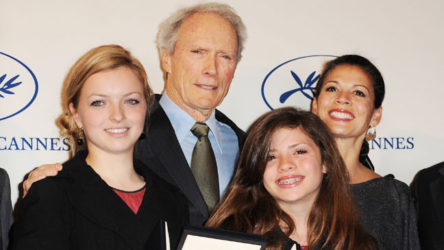 Clint Eastwood Dina Eastwood with Children - H 2011