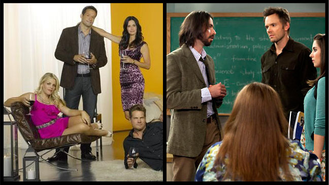 ABC's 'Cougar Town,' NBC's 'Community' Gets Midseason Bench