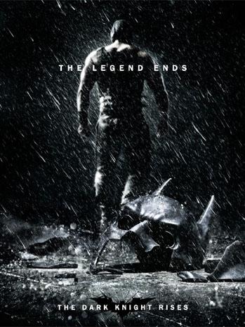 Dark Knight Rises Poster Batman - P 2011
