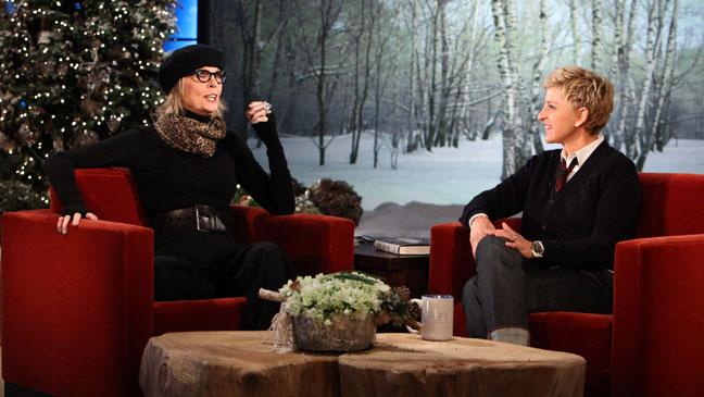 Diane Keaton Ellen Show - H 2011