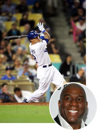 Dodgers Magic Johnson Split - P 2011