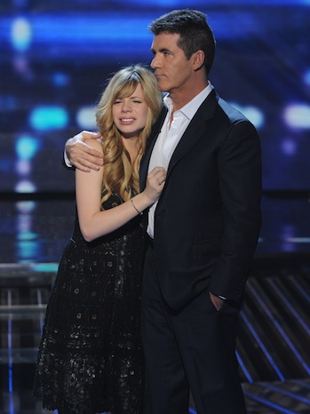 Drew Ryniewicz Simon Cowell X Factor 2011