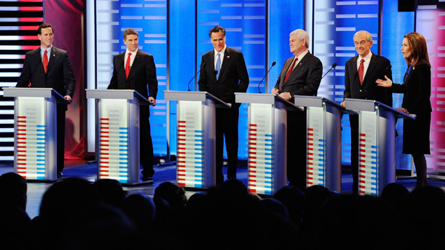 Republican Debate ABC News December 11 - H 2011