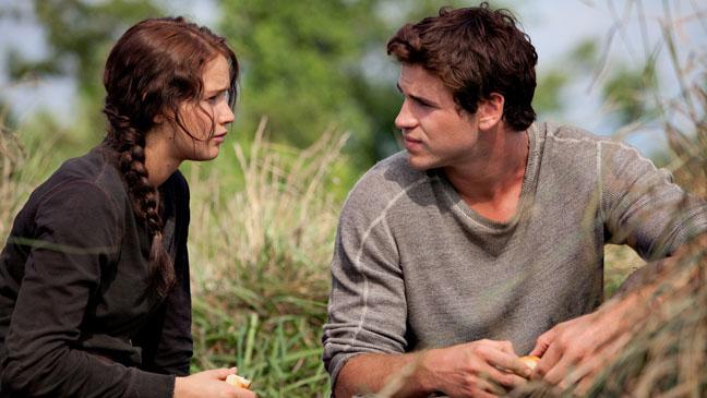 The Hunger Games Jennifer Lawrence Liam Hemsworth - H 2011