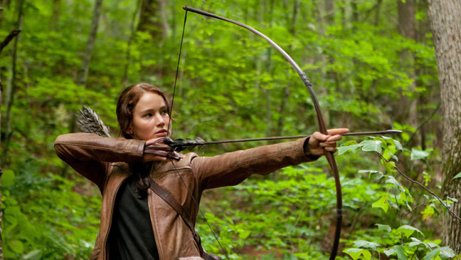 The Hunger Games Jennifer Lawrence Arrow - H 2011