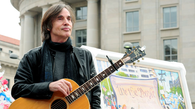 Jackson Browne Occupy DC Performing - H 2011