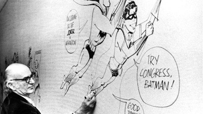 Jerry Robinson Batman Robin - H 2011