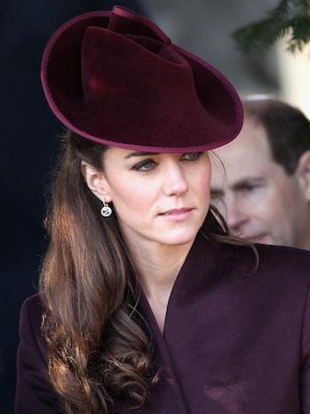 Kate Middleton Christmas Hat P 2011
