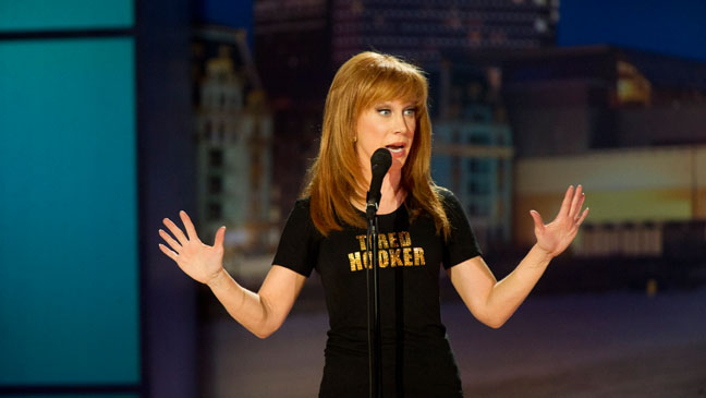 Kathy Griffin Tired Hooker - H 2011