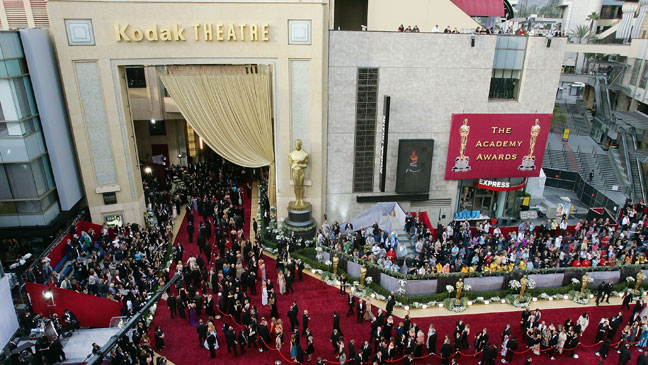 Kodak Theater Exterior Oscar Red Carpet - H