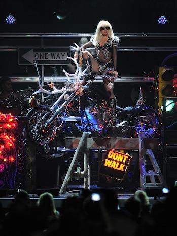 Lady Gaga z100 jingle ball 2011