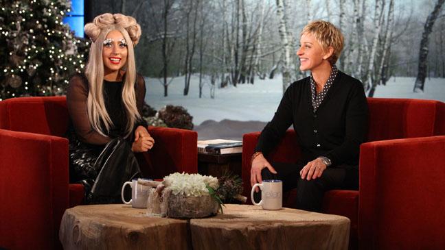 Lady Gaga Ellen Degeneres - H 2011