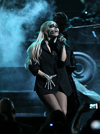 Lady Gaga Grammy Nominations Concert - P 2011