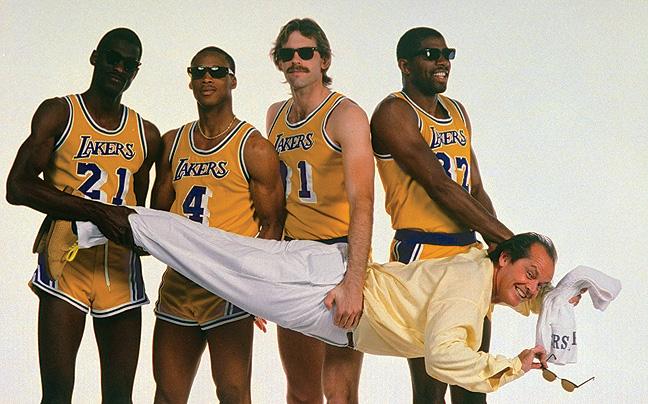 45 ENDPG Los Angeles Lakers Jack Nicholson H IPAD