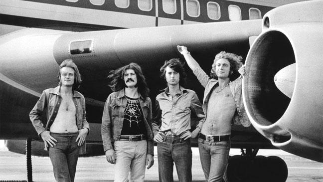 Led Zeppelin 1973 Gruen - H 2011