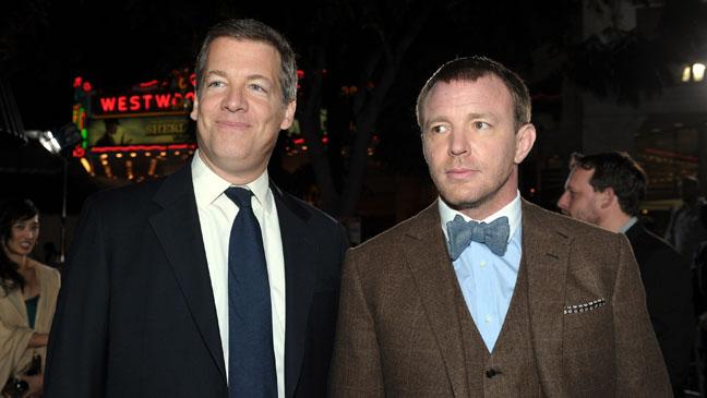 Lionel Wigram Guy Ritchie Sherlock Holmes Premiere - H 2011
