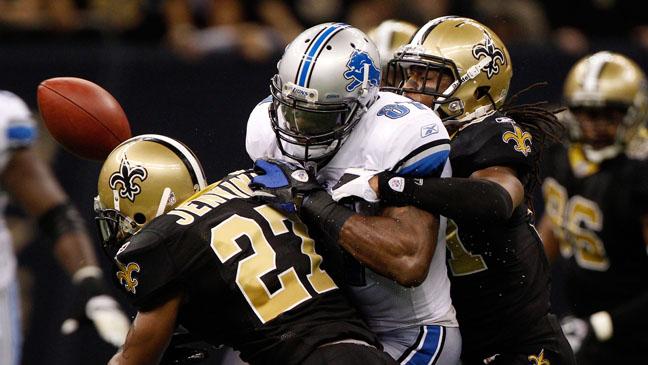 Lions Saints NFL Game Dec 4 - H 2011