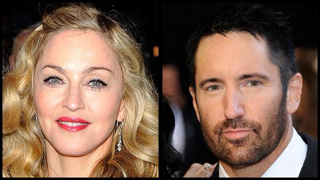Madonna Trent Reznor Split