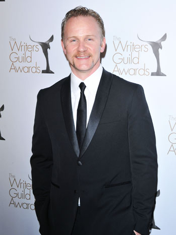 Morgan Spurlock Writers Guild Awards - P 2011
