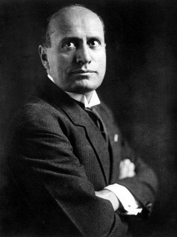 Mussolini Portrait - P 2011