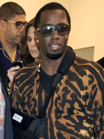 P. Diddy Miami Art Basel - P 2011