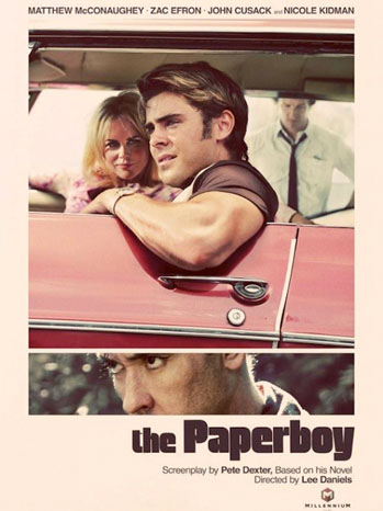 Paperboy Movie Poster Retro - P 2011