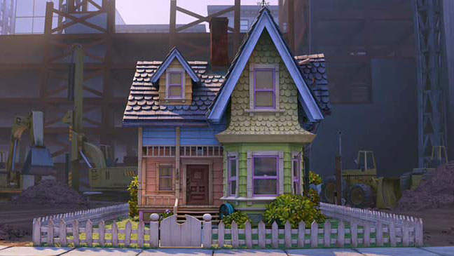 Pixar Up House Exterior - H 2011
